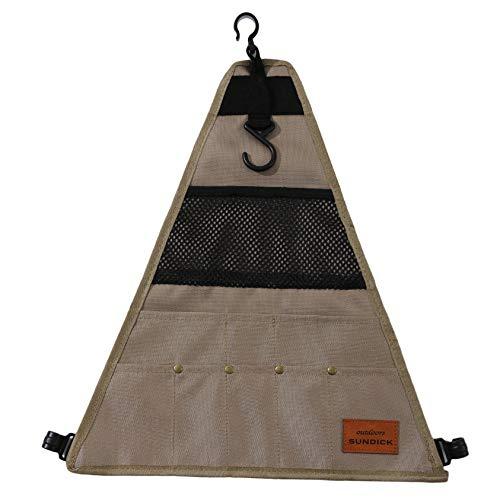 ZYYXB Bolsa de almacenamiento de tela Oxford protectora al aire libre Camping Picnic Vajilla Bolsa de almacenamiento Suministros de barbacoa Camping Colgantes Bolsas, Estilo 1