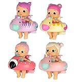 BLOOPIES FLOATIES - Badepuppe mit Schwimmring für mehr Wasserspaß; Ideales Badespielzeug für Kids ab 2 Jahren; Puppenmodell nach Zufallsprinzip