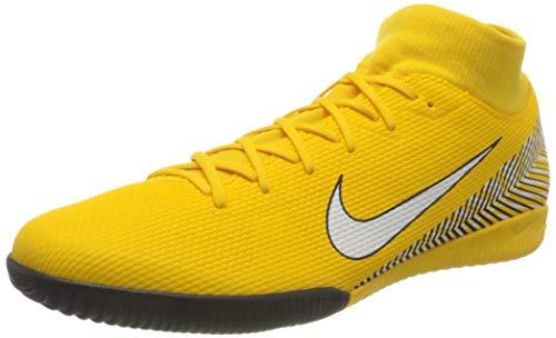 Nike Unisex-Erwachsene Superfly VI Academy Neymar Indoor Fitnessschuhe, Mehrfarbig (Amarillo/White/Black 710), 45 EU