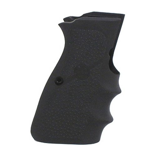 Hogue 09000 Rubber Grip, Browning High Power 9mm W/Finger Grooves