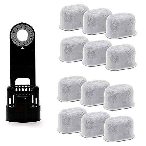 Filtro Máquina de Café, Filtro Café Reemplazable, 12 Paquetes de Filtro Agua Reemplazable Compatible con Cafetera Keurig, Filtro Agua de Carbón