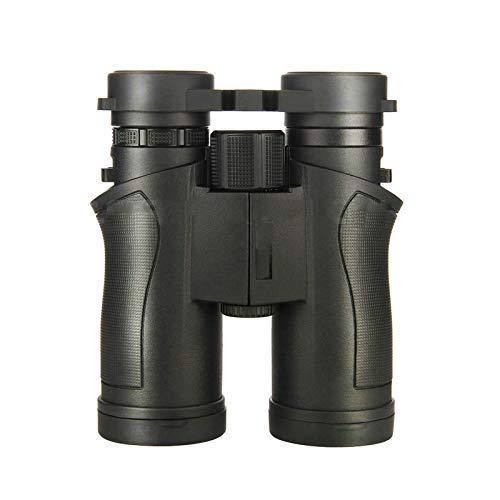 TASGK 8x42 Prismáticos para Niños Adultos, HD BAK-4 Prism FMC Lente Vida Impermeables Prismáticos Compactos para Observación de Aves Prismáticos con Visión Nocturna de Poca Luz,Negro
