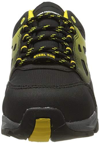AmazonCommercial – Calzado de seguridad con puntera de...