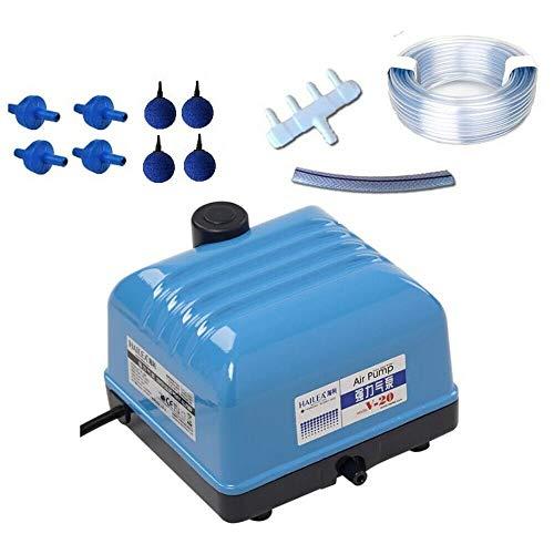 Hailea V-20 Set Aquarium Belüfter Sauerstoff Garten Eisfreihalter Luftpumpe 15 W