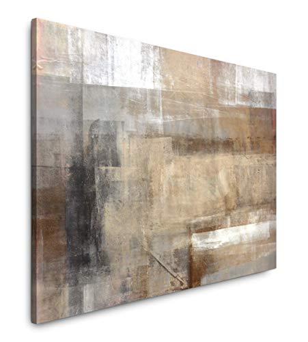 Paul Sinus Art Abstrakte Kunst 60 x 90 cm Inspirierende Fotokunst in Museums-Qualität für Ihr Zuhause als Wandbild auf Leinwand in