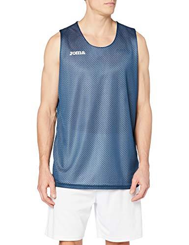 Joma 100050.300 - Camiseta de baloncesto para hombre, color azul marino, talla L