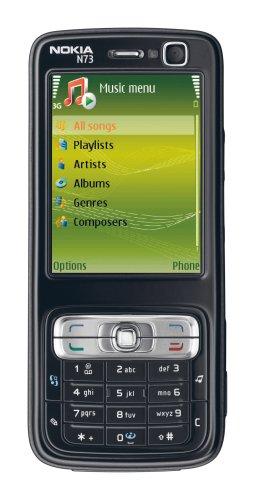 Nokia N73 Music Edition 6,1 cm (2.4') Nero 1100 mAh