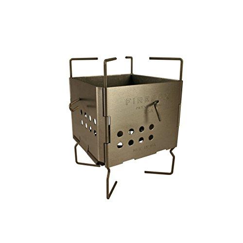 FIREBOX (ファイヤーボックス) GEN2 ナノストーブ チタン ウッドストーブ 3インチ 【日本正規品】
