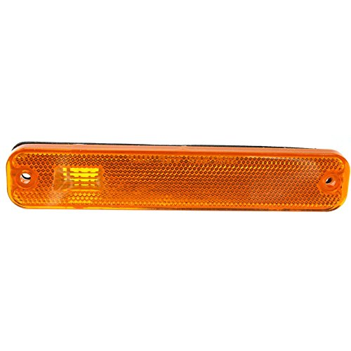 Front Side Marker Lamp compatible with Ford Econoline Van 75-91 Right or Left Lens and Housing On Fender