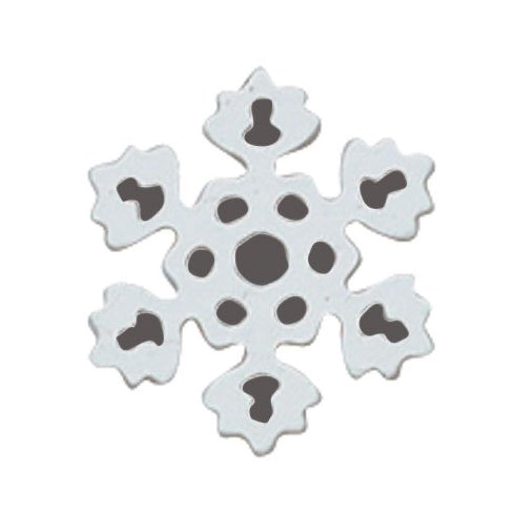 権限を与えるバナーバルコニーリトルプリティー ネイルアートパーツ PWスノーホワイト S 10個