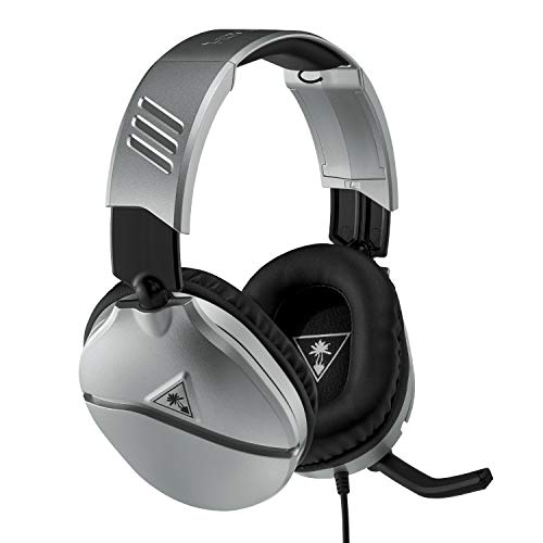 Turtle Beach Recon 70 Silber Gaming Headset - PS4, PS5, Xbox One, Xbox Series S/X, Nintendo Switch und PC