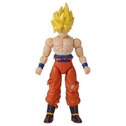 Dragon Ball Z Dragon Stars Super Saiyan Goku Battle Damaged Exclusive Action Figure