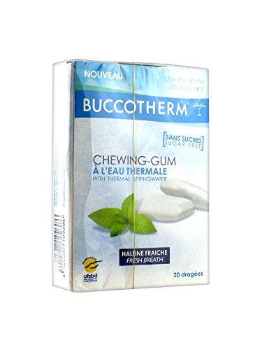 Buccotherm chicles de agua termal 20grageas
