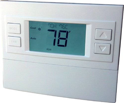 RCS Technology RCS Z-Wave Thermostat, TBZ48, Battery