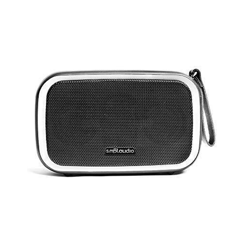 Smpl Wireless-Lautsprecher - Hi-Fi-Klang mit leistungsstarkem Bass, integriertes Mikrofon, 28W, wasserdicht, staubdicht, 12Stunden Akkulaufzeit, 20m Bluetooth-Reichweite