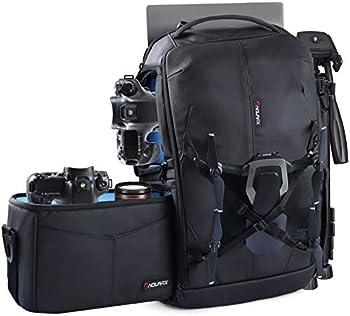 Endurax Camera Backpack with Shoulder Bag