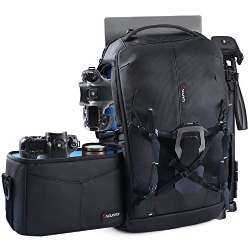 Endurax Camera Backpack with Shoulder Camera Bag Now $43.99 (Was $89.99)