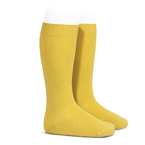 Calcetines Condor amarillos altos para niño