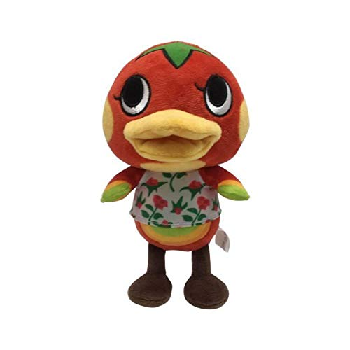 YUTRD Cute Animal Crossing Duck Ketchup Peluche 20 Cm, Morbidi Animali di Peluche Giocattoli Bambola per Bambini Regali per Bambini Festival