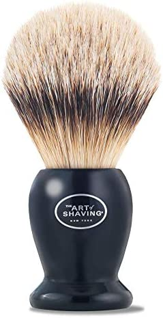 The Art of Shaving Silvertip Shaving Brush Black product image