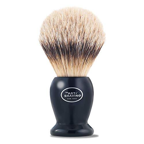 The Art of Shaving Silvertip Shaving Brush, Black