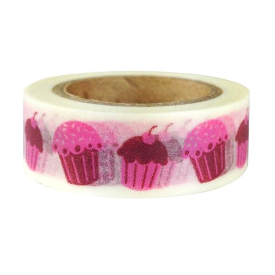 Allydrew 64777C Hearts & Sweets Japanes Washi Masking Tape Cupcakes