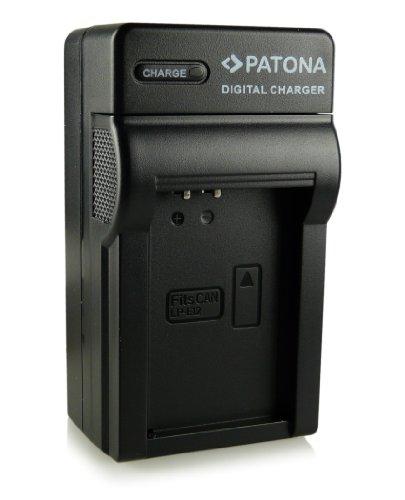 Patona - Cargador tipo LP-E12 para Canon EOS 100D, EOS M, EOS Rebel SL1, etc.