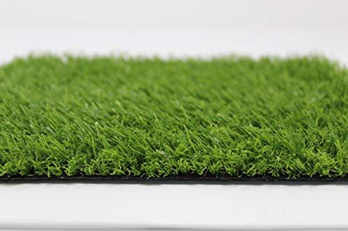 Prato sintetico di alta qualità Tappeto erboso per esterno con sfumature di Colore (20mm 1x5 metri)