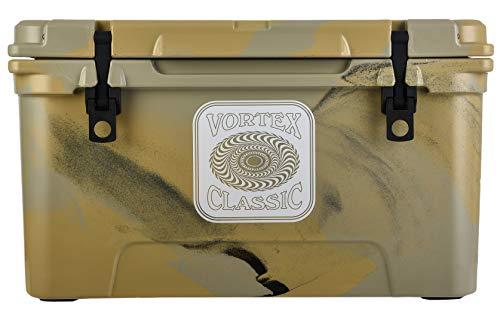 Classic Series 65-Quart Rotational-Molded Cooler in Tan