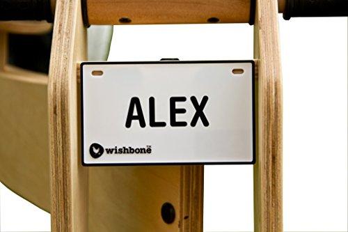 Unbekannt Wishbone 3011 - Namensschild für Laufräder