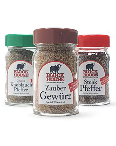 BLOCK HOUSE Refill Grillgewürz Set