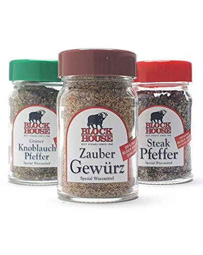 BLOCK HOUSE Refill Grillgewürz Set