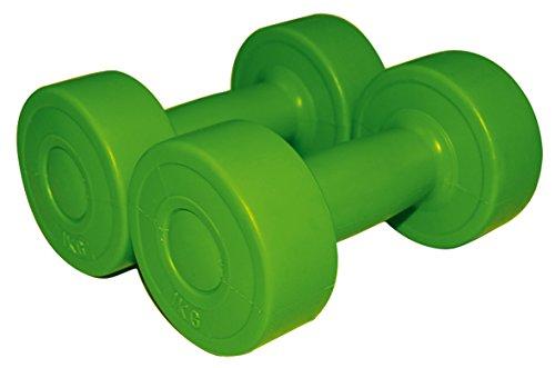 Queraltó Verdes Mancuernas de Polipropileno 1 kg (par), Unisex Adulto, XL