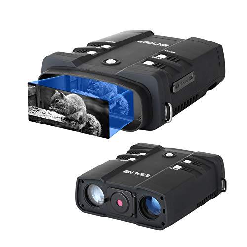 """ESSLNB Nachtsichtgerät 10,8X Vergrößerung 1080P mit 64GB Karte und 8 AA Batterien 4\"""" LCD Bildschirm 2300 Yards Reichweite Wiedergabe Foto und Videoaufnahmefunktion"""