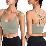 Sujetador Invisible Slim Fit sin Anillo de Acero Chaleco para Mujer Ropa Interior de Fitness para Correr Gimnasio Yoga Pilates