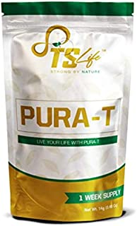 Pura T 7 Day Supply Detox Tea: Cleanse w/All-Natural, Laxative-Free, Green Tea Leaves, Slimming Way to Release Toxins and Increase Energy