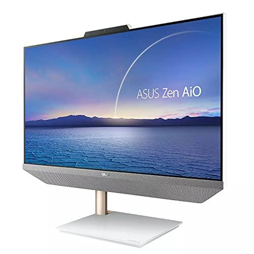 "ASUS Zen AiO 24, 23.8"" FHD Touchscreen Display, AMD Ryzen 5 5500U Processor, 8GB DDR4 RAM, 512GB SSD, Windows 10 Home, Kensington Lock, Wireless Keyboard and Mouse Included, M5401WUA-DS503T"