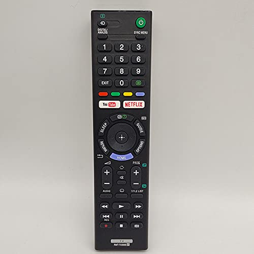 HUYANJUN, Hijo Y Es Adecuado para Sony TV RMT-TX300E Apropiado RMT-TX300 P Control Remoto Inteligente De P Bluetooth