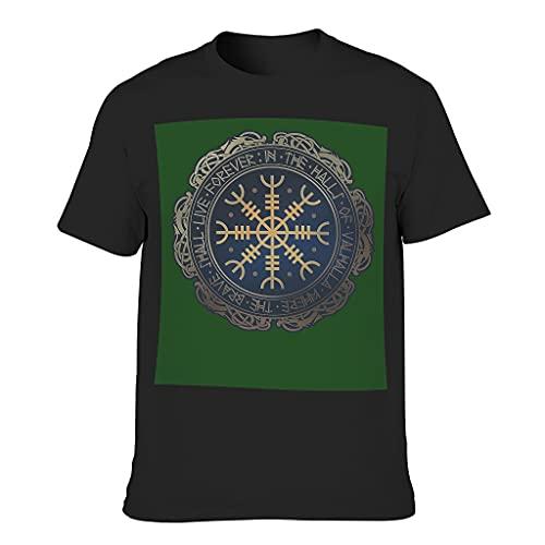 Lind88 Camiseta de algodón para hombre - Top elegante