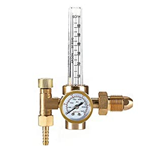CO-Z Argon CO2 Mig Tig Flow Meter Welding Weld Regulator Gauge CGA-580 Gas Welder by CO-Z