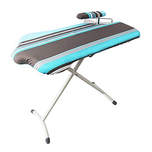 tabla de planchar grande ,tabla de planchar plegable, tabla de planchar robusta,diseño simple y elegante, altamente ajustable, fácil de almacenar y ahorrar espacio.