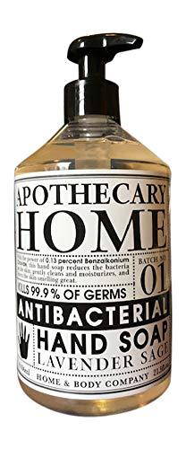 21.5 oz. Lavender Sage Home Apothecary Hand Soap 21.5 oz. Lavender Sage Home Apothecary Hand Soap