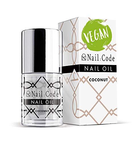 Nail:Code Vegan Nagelöl Cocos Gelnägel Pflege Nagelhaut Nail & Cuticle Oil, nail care natural care nagelhautpflege nagelpflegeprodukte Nagelpflegeöl 10ml.(coconut)