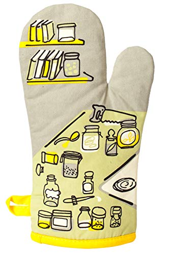 """Blue Q Oven Mitt""""Droppin' A New Recipe On Your Ass"""" 1"""