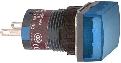 Schneider elec pic - mss 46 01 - Piloto cuadrado azul led 24v