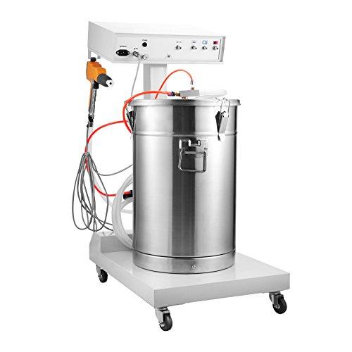 BananaB WX-101 Pulverbeschichtungsgerät 40W Powder Coating Machine 50L Pulverpistole pulverbeschichten pulver 550g/min Spritzpistole Powder Spraying Machine