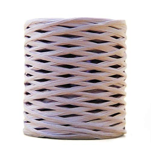 LemonM 200 Meter Reel Raffia Straw Yarn Hand Crocheting Yarn for Diy Handmade Hats Handbags Cushions Packing Wrapping Material Sup. (11)
