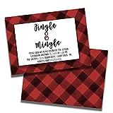 Mingle & Jingle   Holiday Party Invitation   Personalized