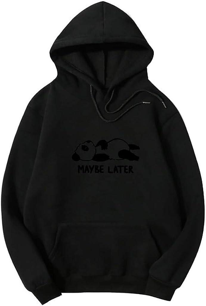 Meikosks Bargain Cute 5% OFF Graphic Hoodie Long Womens Drawstring Sweatshirts