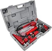 1 set 4 Ton Hydraulic Energie Auto Van Jack Body Macht Repair Kit Tools Red Hijswerktuigen krik